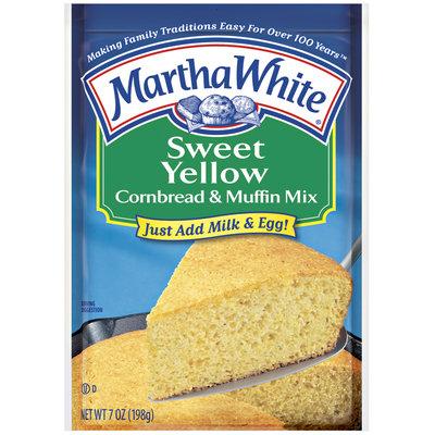Martha White Sweet Yellow Cornbread & Muffin Mix 7 oz. Packet