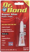 Dr. Bond® Carded Super Glue 2 G Tube