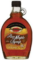 Schnucks Pure Maple Syrup 12 Fl Oz Glass Bottle