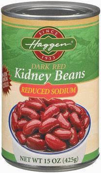 Haggen Dark Red Reduced Sodium Kidney Beans 15 Oz Can