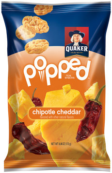 Quaker® Popped Chipotle Cheddar Rice Snacks
