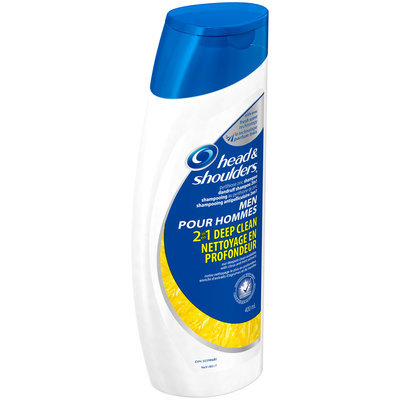 Deep Clean Head and Shoulders Deep Clean 2-in-1 Dandruff Shampoo + Conditioner for Men 400 mL