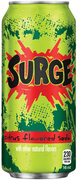 Surge­™ Citrus Flavored Soda
