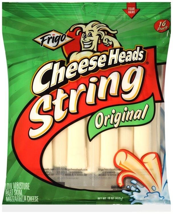 frigo cheese heads original string cheese 16 ct bag reviews find the best food beverages. Black Bedroom Furniture Sets. Home Design Ideas