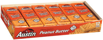 Austin Cheese W/Peanut Butter Cracker Sandwiches 16.5 Oz Box