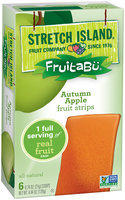 Fruitabu® Autumn Apple Fruit Strips 6 ct Box