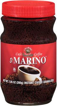 El Marino® Instant Granulated Coffee 7.05 oz. Jar