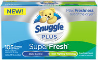 Snuggle® Plus SuperFresh™ Fabric Softener 105 ct Box