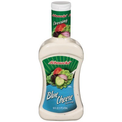 Schnucks Blue Cheese Dressing 16 Oz Squeeze Bottle