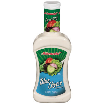 Schnucks Blue Cheese Dressing 16 Oz Squeeze Bottle