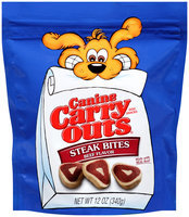 Canine Carry Outs Steak Bites Beef Flavor Dog Snacks, 12-Ounce