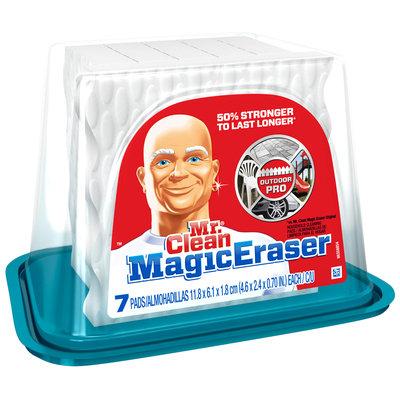 Mr. Clean Outdoor Pro Magic Eraser 7 ct Tub