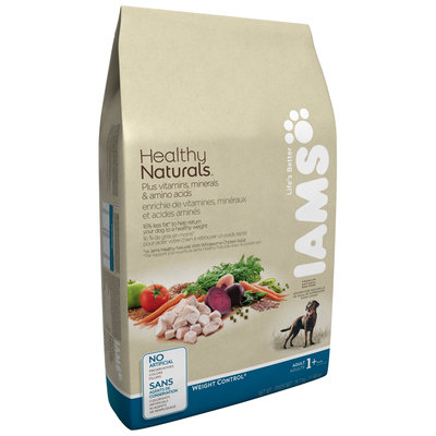 Iams® Healthy Naturals Weight Control Natural Adult Dog Food 25.7 lb. Bag