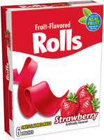 Kellogg's® Strawberry Fruit-Flavored Rolls 6 ct Pouches