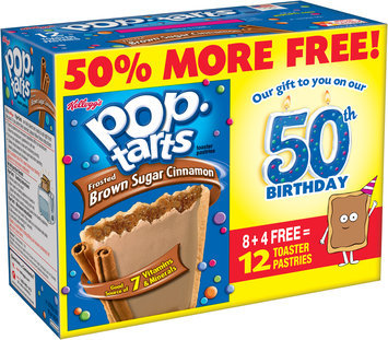 Kellogg's® Pop-Tarts® Frosted Brown Sugar Cinnamon Toaster Pastries 12 ct Box