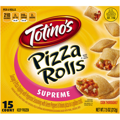 Totino's® Supreme Pizza Rolls® 15 ct Box