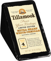 Tillamook® Four Year Vintage Extra Sharp White Cheddar Cheese 18 oz. Wedge
