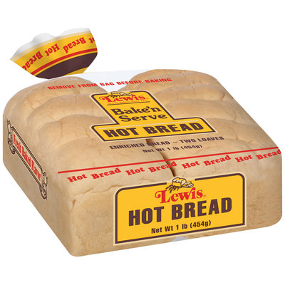 Lewis® Bake'n Serve Hot Bread 1 lb. Bag