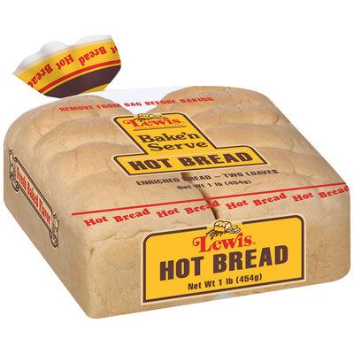 Lewis® Bake'n Serve Hot Bread 1 lb. Bag