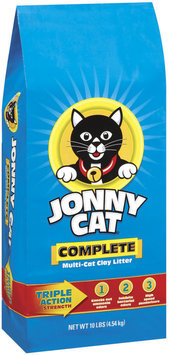 Jonny Cat Complete Multi-Cat Clay Cat Litter 10 Lb Stand Up Bag