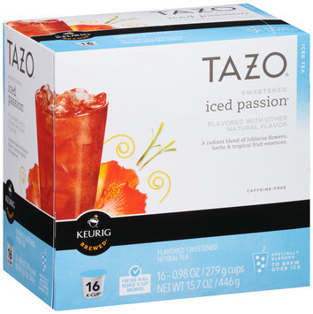 Tazo® Sweetened Iced Passion® Herbal Tea K-Cup®