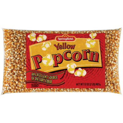 Springfield Yellow Popcorn 32 Oz Bag