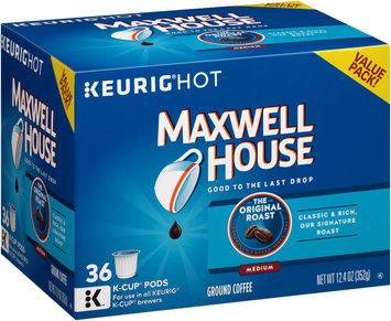 Maxwell House Original Roast Ground Coffee K-Cup® Pods 36 ct Box
