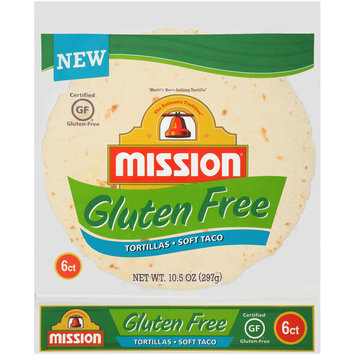 Mission® Gluten Free Soft Taco Tortillas 6 ct Bag
