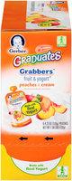 Gerber® Graduates® Grabbers™ Peaches & Cream Fruit & Yogurt 6 ct Box