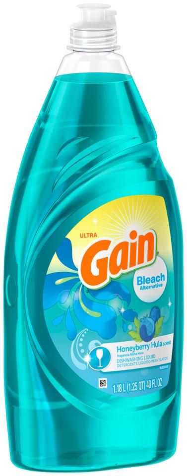 Gain® Ultra Bleach Alternative Honeyberry Hula Dishwashing Liquid