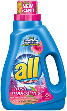 all® Fresh Tropical Mist™ Laundry Detergent 50 fl. oz. Bottle