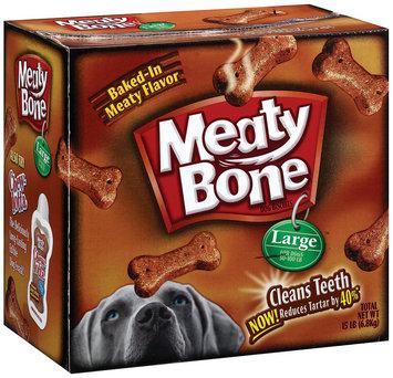 Meaty Bone Large (Ps #15011911) Dog Snacks 15 lb. Box