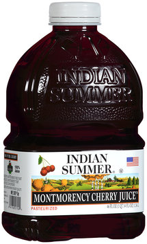 Indian Summer 100% Montmorency Cherry Juice 46 fl oz Plastic Bottle
