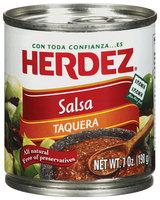 Herdez® Taquera Salsa 7 oz. Can