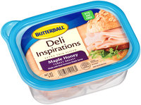Butterball® Deli Inspirations Extra Thin Sliced Maple Honey Turkey Breast 9 oz. Plastic Tub