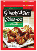 Simply Asia Steamers General Tso Chicken Dry Seasoning Mixes 1.25 Oz Packet