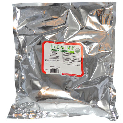 Frontier Bulk Chicory Root Roasted Granules DripGrind, CERT. ORGANIC, 1 lb