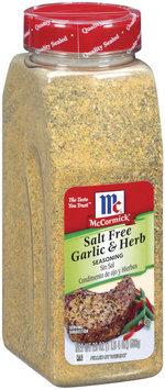 McCormick® Salt Free Garlic & Herb Seasoning