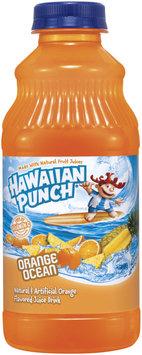 Hawaiian Punch Ocean Orange Juice Drink 32 Oz Plastic Bottle