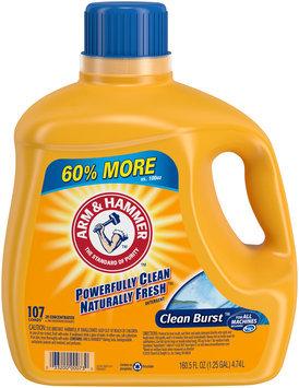 Arm & Hammer™ Clean Burst™ Detergent 160.5 fl. oz. Jug