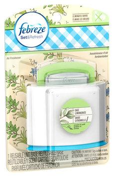 Set & Refresh Febreze Set & Refresh™ Sage Lemongrass Air Freshener (1 Count, 5.5 mL)