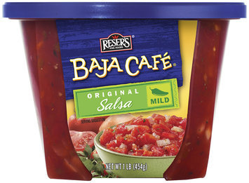 Baja Cafe Mild Salsa 1 Lb Bowl