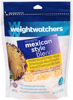 Weight Watchers Reduced Fat Mexican Style Blend Cheese 7 oz.