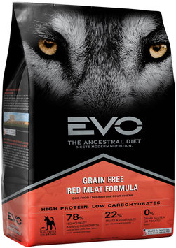 EVO Red Meat Formula Dog Food 6.6 lb. Bag
