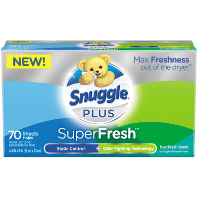 Snuggle® Plus SuperFresh™ Fabric Softener 70 ct Box