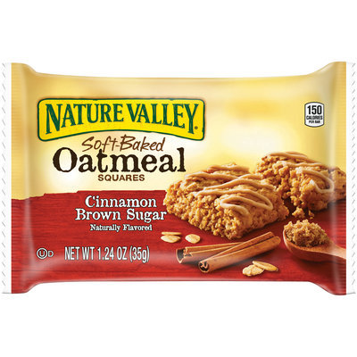 Nature Valley™ Cinnamon Brown Sugar Soft-Baked Oatmeal Squares 1.24 oz. Wrapper