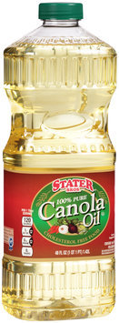 Stater Bros.® 100% Pure Canola Oil 48 fl. oz. Bottle