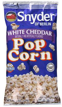 Snyder of Berlin® White Cheddar Popcorn 6 oz. Bag