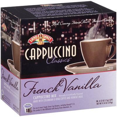 Land O'lakes Cappuccino Classics French Vanilla Cappuccino Mix