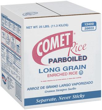 Comet Parboiled Long Grain Enriched Rice 25 Lb Box
